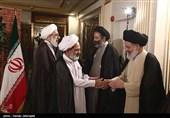 دیدار نمایندگان بعثه مراجع عظام با سرپرست حجاج ایرانی