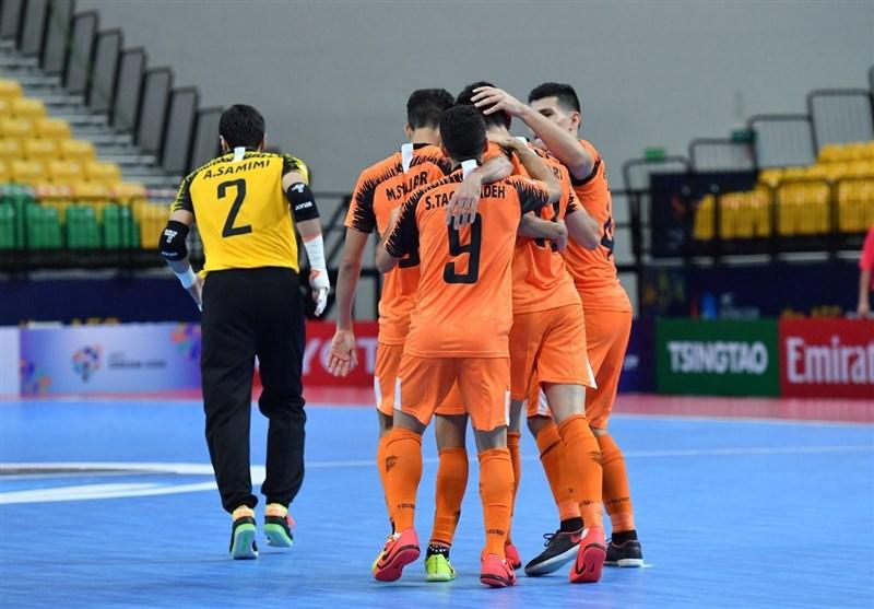 فوتسال قهرمانی باشگاههای آسیا| پیروزی سخت مس سونگون مقابل حریف لبنانی/ صعود شاگردان تقیپور به نیمه نهایی