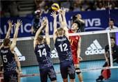 والیبال انتخابی المپیک  نخستین پیروزی به نام چین ثبت شد