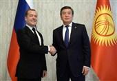 رئیس جمهور قرقیزستان و نخست وزیر روسیه دیدار کردند