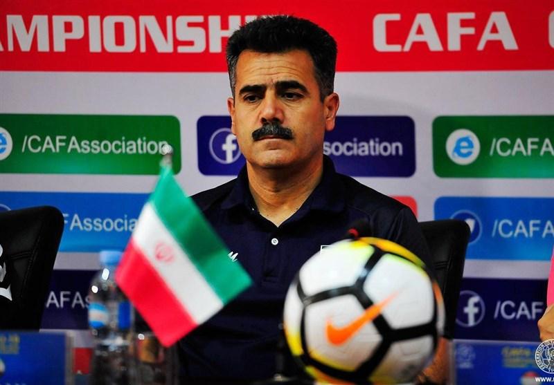 Iran Aims for 2019 CAFA U-19 Championship Title, Coach Says
