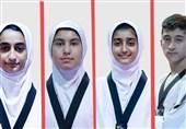 تکواندو نونهالان جهان|10 مدال برای ایران در پایان روز سوم