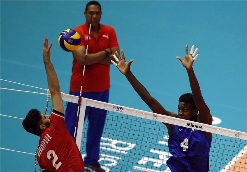 Iran Volleyball Beats Cuba in Five Sets: IOQT