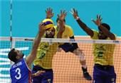 والیبال انتخابی المپیک  برزیل و لهستان، گام نخست را محکم برداشتند