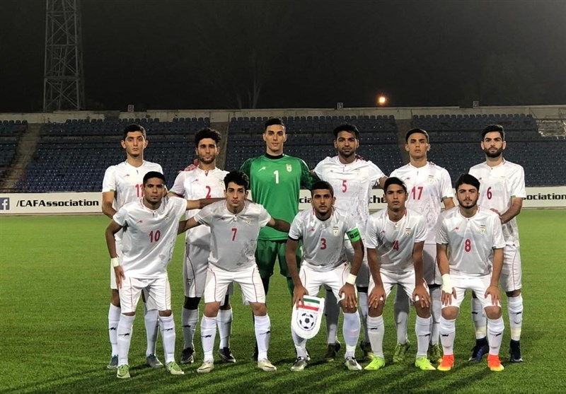 Iran Earns Second Win at 2019 CAFA U-19 Championship
