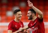 فوتبال جهان غیبت اوزیل و کولاسیناک مقابل نیوکاسل به دلایل امنیتی