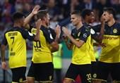 فوتبال جهان| صعود آسان بوروسیادورتموند به دور دوم جام حذفی آلمان