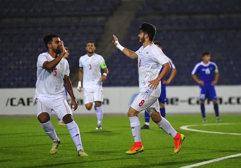 Iran Defeats Afghanistan at CAFA U-19 Championship