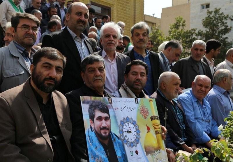 گزارش تسنیم از مراسم یادبود مرحوم محمدباقر منصوری + فیلم