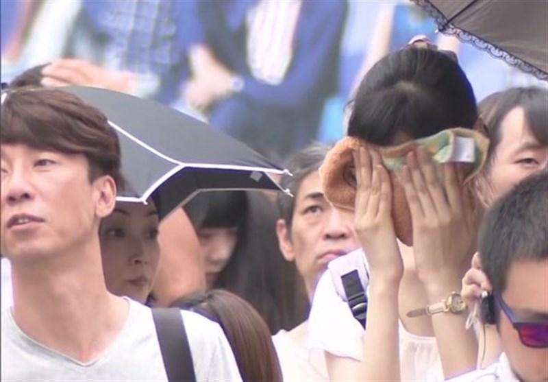 گرما در ژاپن جان 57 نفر را گرفت