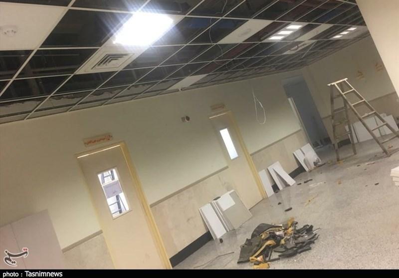 """تخریب آزمایشگاه بیمارستان سوانح و سوختگی اهواز برای احداث """"بیوبانک""""+ تصاویر"""