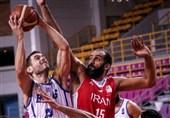 پایان اردوی تدارکاتی تیم ملی بسکتبال با شکست مقابل یونان