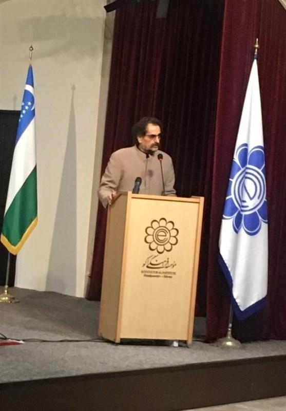 نمایشگاه آثار گروه تذهیب با حضور شهرام ناظری افتتاح شد