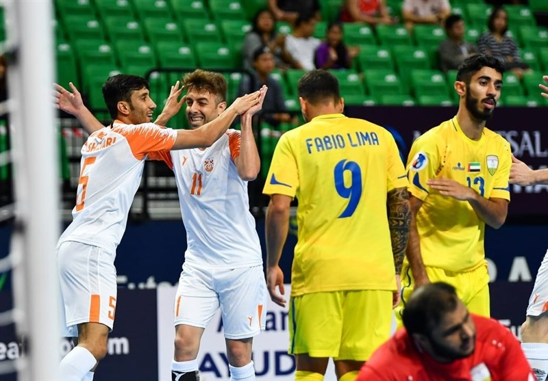 فوتسال قهرمانی باشگاههای آسیا  مس سونگون با پیروزی مقابل الظفره امارات صعودش را قطعی کرد + نتایج کامل امروز