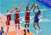 والیبال انتخابی المپیک| پیروزی آسان لهستان مقابل فرانسه/ چین مغلوب کانادا شد + تصاویر