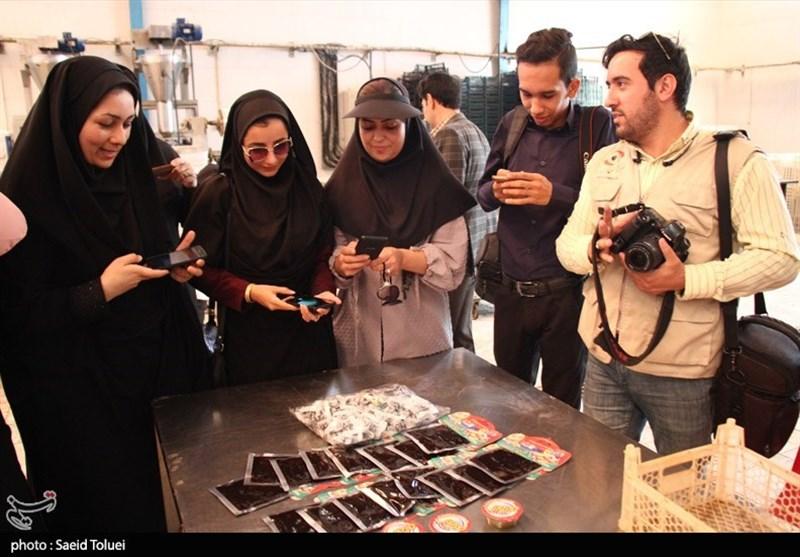 بازدید خبرنگاران خراسان شمالی از واحدهای صنعتی به روایت تصاویر