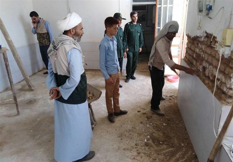 خراسان رضوی  تربیت نیروی انقلابی از مسیر اردوهای جهادی؛ فعل خواستن و سازندگی در گناباد صرف میشود