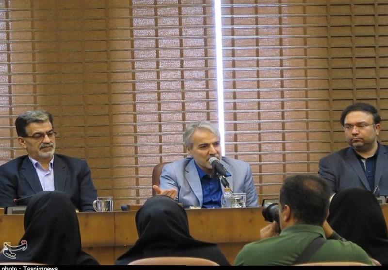 نشست خبرنگاران گیلانی با معاون رئیس جمهور به روایت تصویر