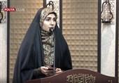شعرخوانی عاشقانه فاطمه افشاریان +فیلم
