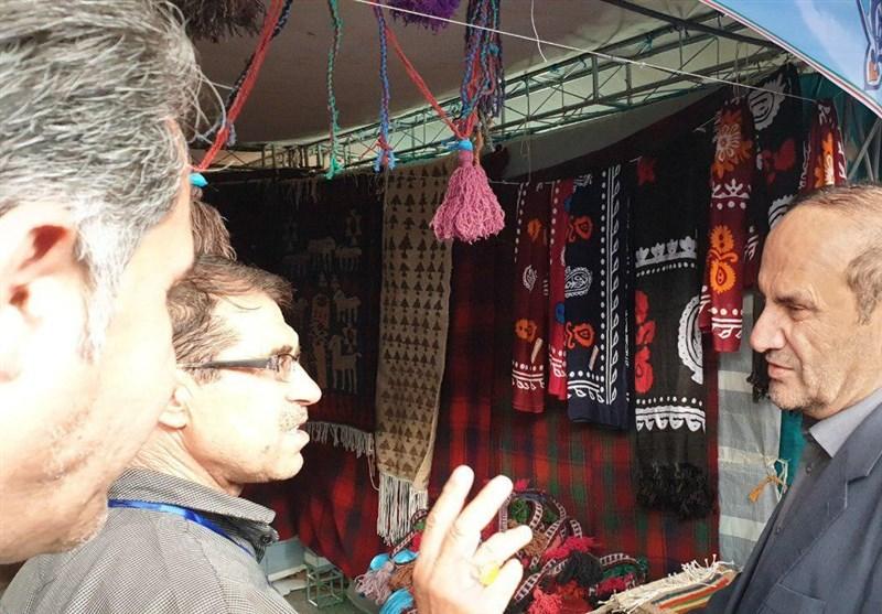 افتتاح نمایشگاه منطقهای صنایع دستی در ایلام