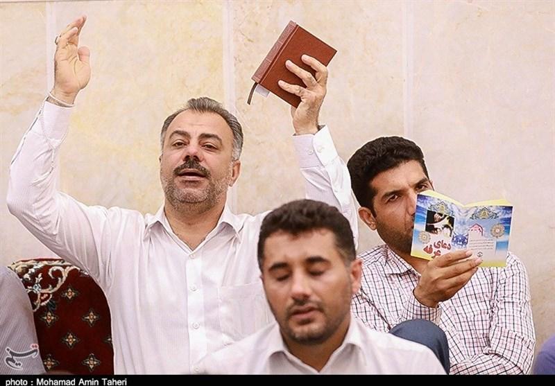 آیین پر فیض دعای عرفه در بندرعباس برگزار شد+ تصاویر