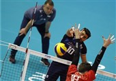 والیبال انتخابی المپیک| غفور؛ امتیازآورترین بازیکن ایران مقابل روسیه