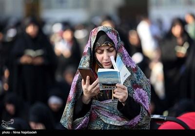 آئین قرائت دعای عرفه در حرم امام رضا (ع)