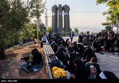 آئین قرائت دعای عرفه در تبریز