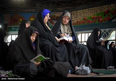 آئین قرائت دعای عرفه در رشت