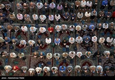 نماز عید قربان در همدان
