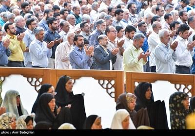 نماز عید قربان در حرم مطهر شاهچراغ (ع) - شیراز