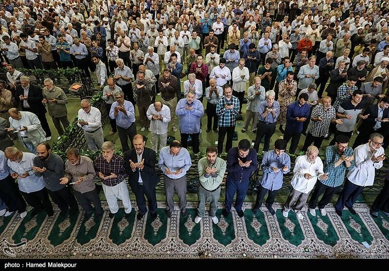 نماز عید سعید قربان در مصلی تهران