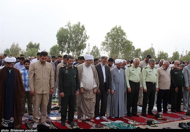 اقامه باشکوه نماز عید قربان در زاهدان بهروایت تصویر
