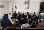 اعضای بسیج رسانه اصفهان با خانواده شهدای رسانه دیدار کردند