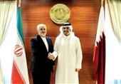 ظریف در قطر: مسئولیت امنیت خلیج فارس برعهده کشورهای همین منطقه است