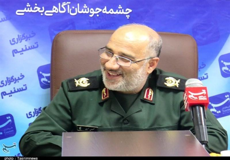فرمانده سپاه روح الله استان مرکزی از دفتر تسنیم بازدید کرد+ تصاویر
