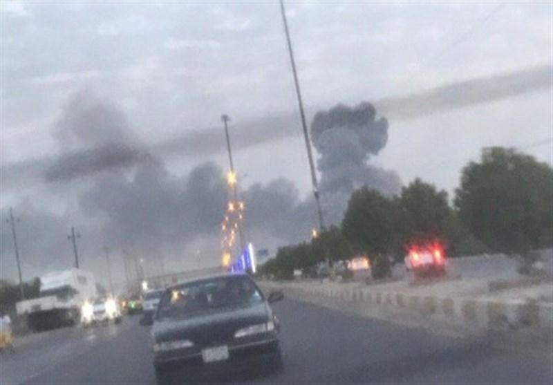 عراق شنیده شدن صدای انفجار شدید در بغداد