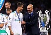فوتبال جهان| رونالدو: زیدان حس خاصی به من میداد/ او کمک زیادی به من کرد