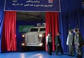 """خودرو پیشرفته زرهی ضد مین و ضدکمین """"رعد"""" رونمایی شد"""