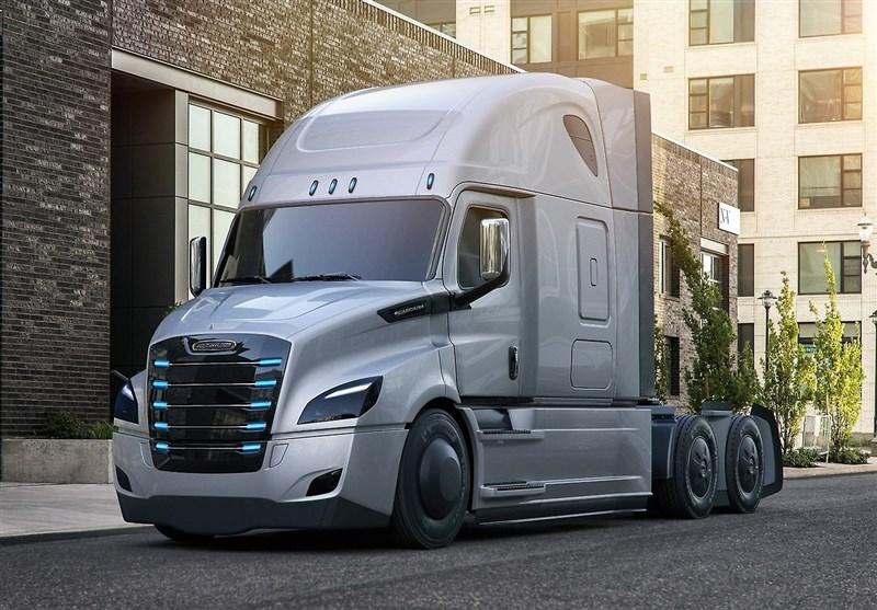 ورود کامیون نیمه برقی برای حمل و نقل جادهای + تصاویر