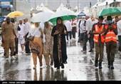 آبگرفتگی معابر شهری و غافلگیری مسافران در مازندران