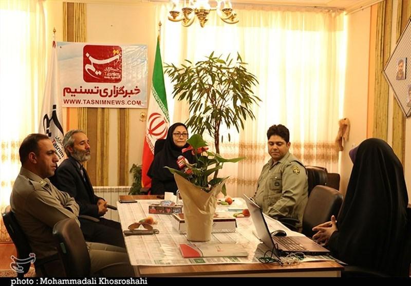 بازدید مدیرکل محیط زیست استان کرمان از دفتر استانی تسنیم+تصاویر