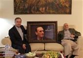عیادت مدیرعامل صندوق حمایت از قهرمانان از محمد توکل