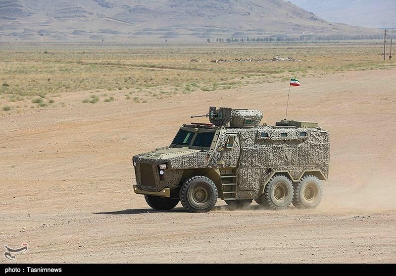 گزارش تسنیم از خودروهای جدید نیروهای مسلح/ حفاظت بیشتر از جان مرزبانان با امرپهای جدید ایرانی