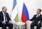 دیدار نخست وزیران ازبکستان و روسیه در عشق آباد