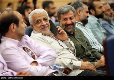 گلعلی بابایی در آیین رونمایی از 4 مستند جنگ سی و سه روزه لبنان