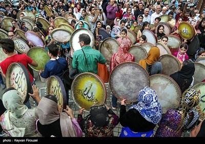 اجتماع بزرگ دف نوازان در سنندج