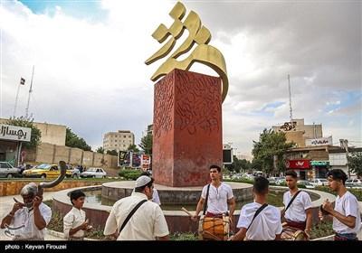 اجتماع بزرگ دف نوازان در پایتخت دف ایران - سنندج