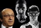 فوتبال جهان| موجی: زلاتان بدنی مانند رونالدو دارد