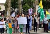 ادامه تظاهرات در اروپا علیه جنایات هند در کشمیر